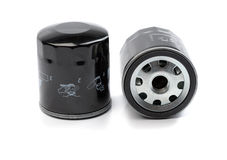 Car engine oil filter Royalty Free Stock Image