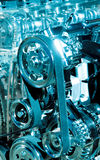 Car engine part. Close up Stock Photography