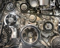 Car engine part Stock Photography