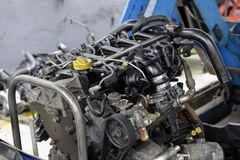 Car engine repair shop Royalty Free Stock Photography