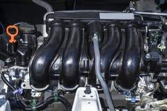 Car Engine Under the Hood #1 Stock Photo
