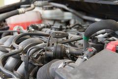 Car engine under Stock Image