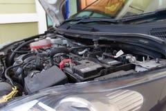 Car engine under Royalty Free Stock Photos