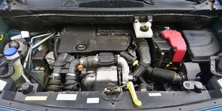 Car engine Royalty Free Stock Photo