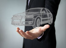 Car engineering concept Royalty Free Stock Photo