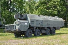 Car of ensuring fighting watch of the strategic Poplar RT-2PM mi Stock Images