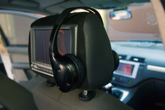 Car entertainment system Stock Image