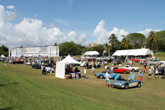 Car event at boca raton resort 11 Royalty Free Stock Photo