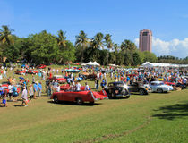 Car event at boca raton resort Royalty Free Stock Images