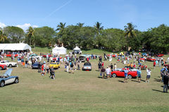 Car event at boca raton resort 9 Royalty Free Stock Photos