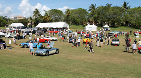 Car event at boca raton resort 10 Royalty Free Stock Photography