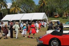 Car event at boca raton resort Stock Photography