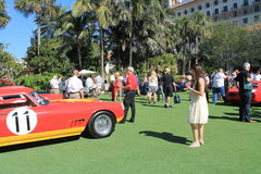 Car event at the breakers hotel 2013 Royalty Free Stock Image