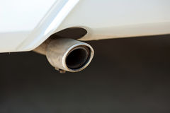 Car exhaust Stock Image