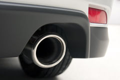 Car exhaust Royalty Free Stock Photos