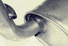 Car Exhaust Royalty Free Stock Images