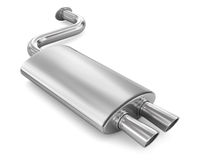 Car Exhaust Pipe. Stock Images