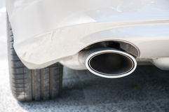 Car exhaust Stock Photography