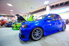 Car exhibition at 4 Tunning Days Royalty Free Stock Photography