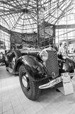 Car exhibition at Bucharest Classic Car Show Royalty Free Stock Images