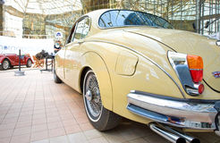 Car exhibition at Bucharest Classic Car Show Royalty Free Stock Image
