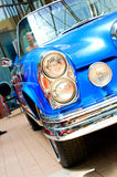 Car exhibition at Bucharest Classic Car Show. royalty free stock images