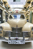 Car exhibition in Gum Department Store in Moscow Stock Photos