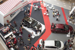 Car Exhibition at the Mall Royalty Free Stock Photo