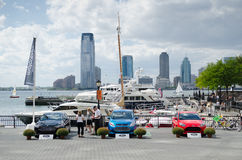 Car exhibition in Manhattan Royalty Free Stock Image