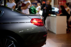 The car exhibition Stock Photography