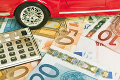 Car expenses - concept Stock Photo