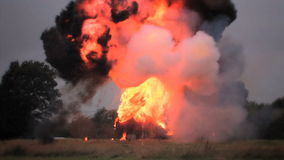 Car Explosion stock video