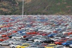 Car factory Stock Photography
