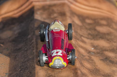 Car of the Fangio era Royalty Free Stock Images