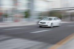 car fast speeding стоковое изображение rf