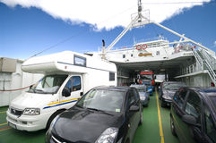 Car ferry Stock Photography