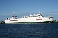 Car Ferry royalty free stock image