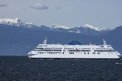 Car-ferry Photo stock