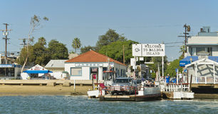 Car Ferry, Balboa Island, Newport Beach California Stock Photos