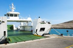 Car Ferry Boat stock photo