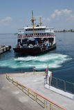 Car ferry crosses the Dardanelles Royalty Free Stock Photography