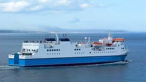 Car-ferry d'île Image stock