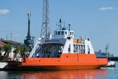 Car-ferry de la Vistule sur le dock Baltiysk Russie Photo stock
