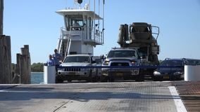 Car Ferry, Ferryboat, Automobile Transport Royalty Free Stock Photography