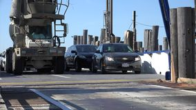Car Ferry, Ferryboat, Automobile Transport Stock Image