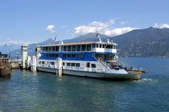 Car Ferry On Lake Como Royalty Free Stock Photo