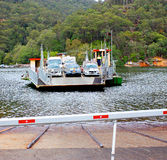 Car ferry, New South Wales, Australia Stock Image