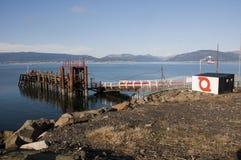 Car Ferry Pier Royalty Free Stock Photo