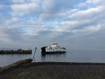 Car Ferry About to Land Royalty Free Stock Photos