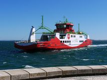 Car Ferry Underway Royalty Free Stock Photos